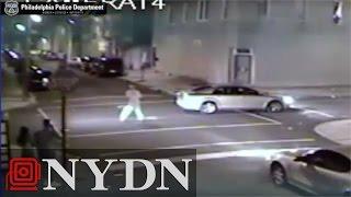 Man uses bat to hit woman, smash windows in Philadelphia road rage attack