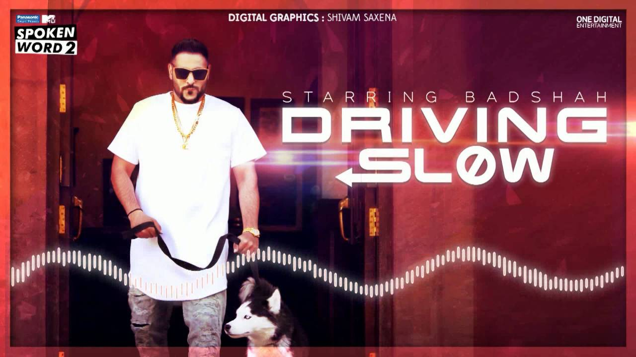 Driving Slow | Badshah | MTV Spoken Word 2 | Motion Graphics | Audio