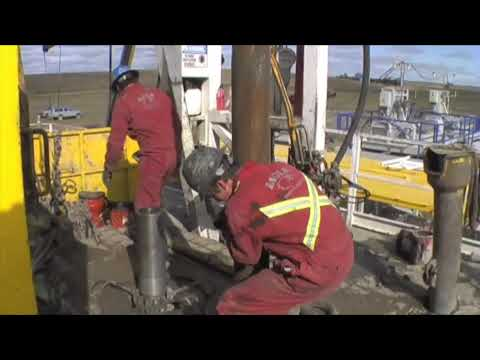 Eagle Drilling Services Rig #4 - Making A Connection