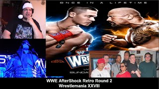 Mark's WWE Aftershock Retro Wrestlemania XXVIII