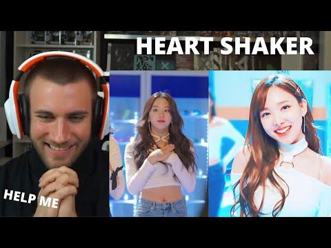 "CUTENESS OVERLOAD 😆🍅❤ TWICE ""Heart Shaker"" M/V - Reaction"