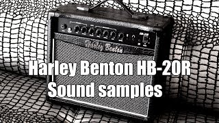 Harley Benton HB-20R Sound Examples