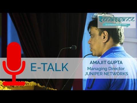 Renaissance 2017 : E-Talk with Amajit gupta at MNNIT Allahabad
