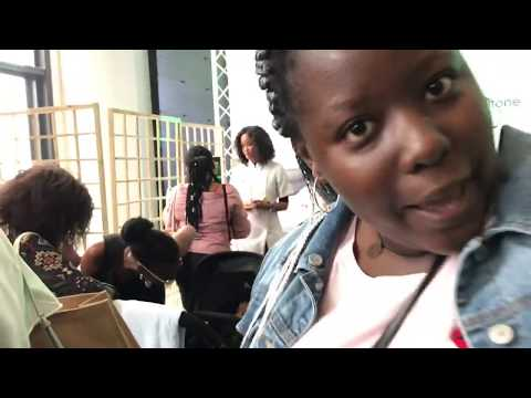 CLICKS CURLS EVENT - FIRST VIDEO/SOUTH AFRICAN YOUTUBER