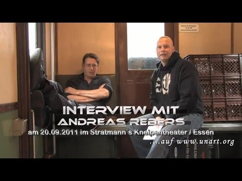 UnArt Live TV - Interview Andreas Rebers, Stratmanns Kneipentheater Essen 2011