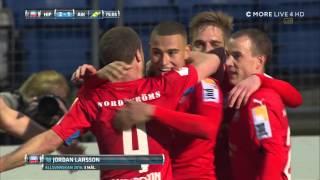 HELSINBORG - AIK 2-1 AMAZING GOAL JORDAN LARSSON