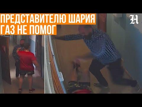 Повалил и забил ногами! Представителя Партии Шария избили активисты в Житомире. НОВОСТИ