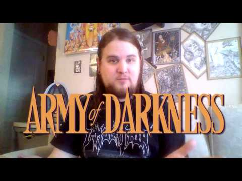 Army of Darkness 3 Disc  Blu ray Review