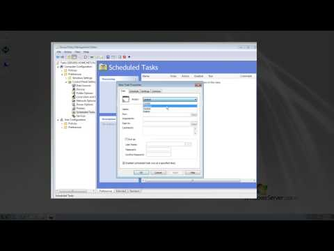Windows Server 2008 R2 Group Policy Management Push out a Task