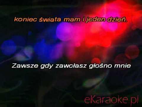 Czerwone Gitary - Senny szept karaoke
