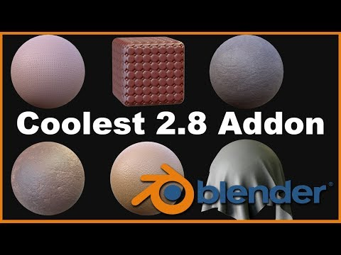 Coolest New Addon To Blender 2.8