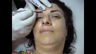 Tatuaj sprancene make up artist Zarescu Dan Clinica Slimart micropigmentare sprancene