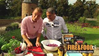 Firefood Tv: Sticky Barbecue Chicken Wings