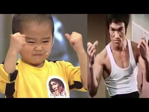 Download Meet the 'mini Bruce Lee'