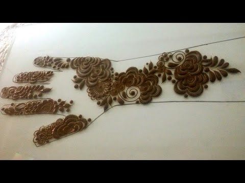 Arabic Rose Mehndi Design Tagged Videos On Videoholder