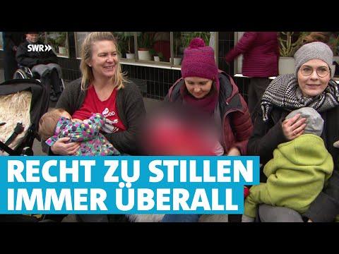 Stillprotest: Mütter stillen