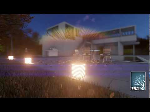 How to create emissive material in lumion