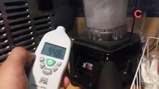 [Video C] 믹서기로 얼음 갈 때 나는 소음 측정