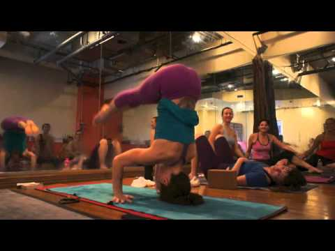 yoga tips with christina sell  how to lower down to arm
