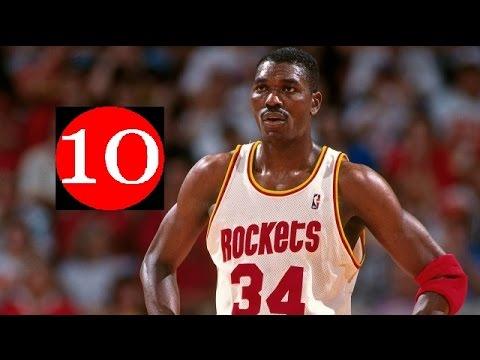 Hakeem Olajuwon Top 10 Plays of Career