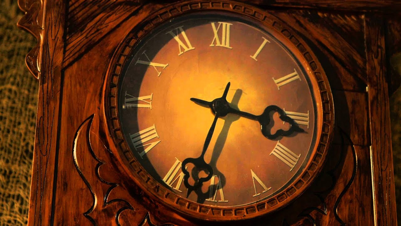 Animated Haunted Clock Youtube