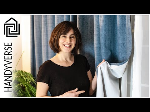 Create Custom Lined Curtains For A Large Window