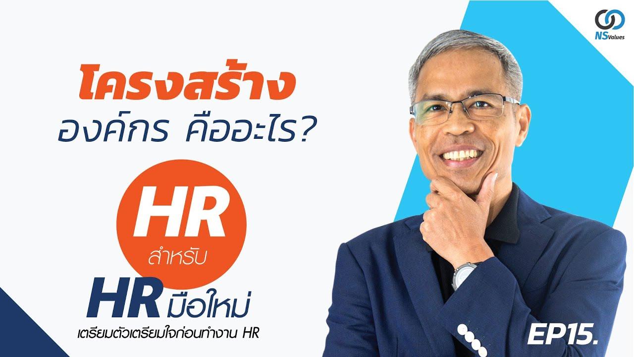 HR มือใหม่ EP.15 |โครงสร้างองค์กรคืออะไร