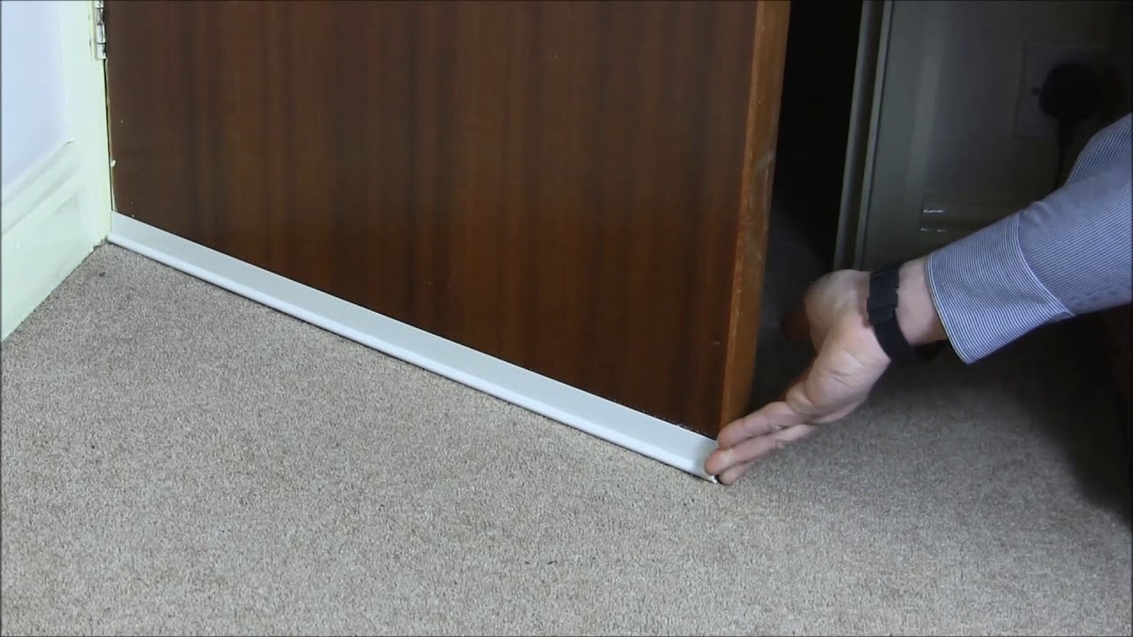 Door Draught Excluder Draft Stopper Uk Youtube