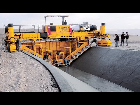 Incredible Modern Road Construction Machine Technology - Fastest Concrete Paving Equipment Machines