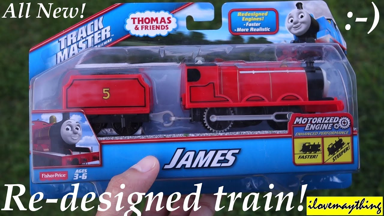 Unboxing The Newly Re Designed Trackmaster JAMES