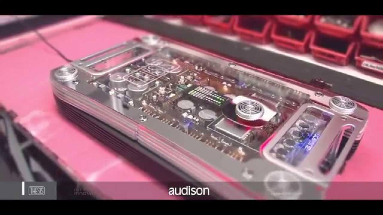 audison thesis amplificatore hv venti