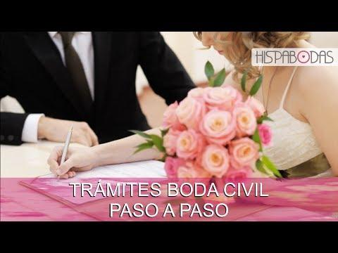 Matrimonio Civil: ¿Qué trámites y papeles necesito para mi Boda?