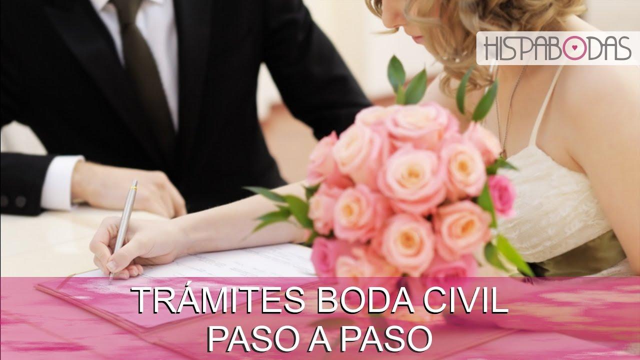 Matrimonio Civil: ¿Qué trámites y papeles necesito para mi Boda ...