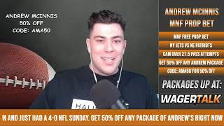 Patriots vs Jets NFL Prop Bets | Monday Night Football Prop Plays and Predictions | Nov 9
