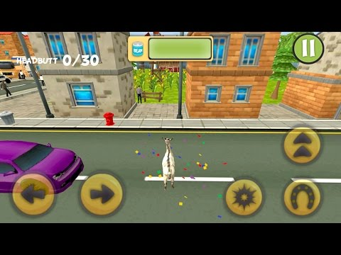 Goat Simulator 3D Frenzy (by Play Cool Zombie Sport Games) Android Gameplay [HD]