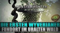 Monster Hunter World - Die ersten Wyverianer finden - Uralter Wald - Lösung/Guide