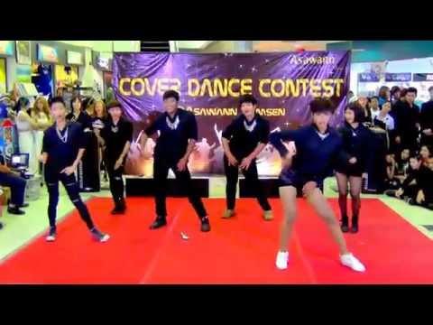 150321 OH MY GODS cover AOA - Confused + Miniskirt + Elvis @Asawann Cover Dance 2015