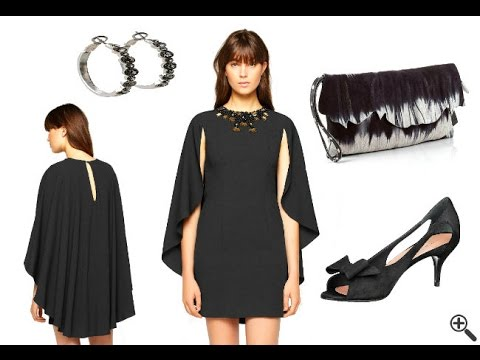 Elegante Sexy Mini Kleider in schwarz + Outfit Tipps - YouTube