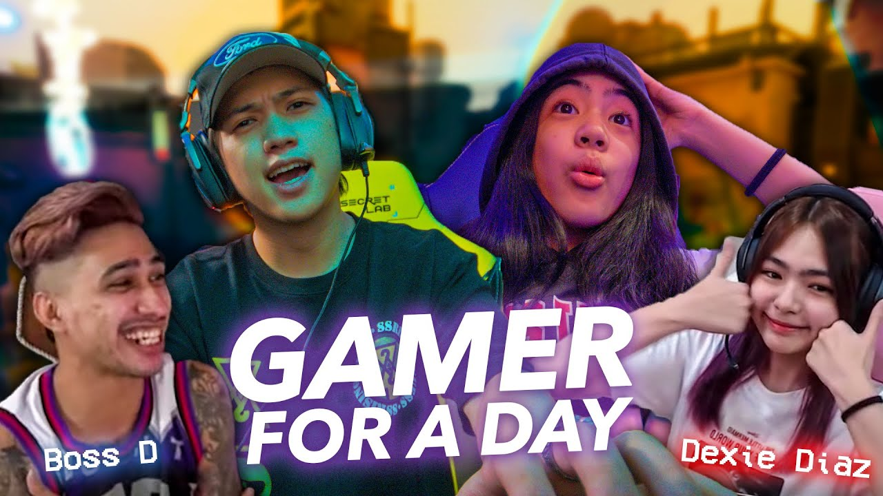 We Tried Becoming A GAMER For A DAY!! | Ranz and Niana