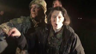 Блокадники закидали яйцями Тетяну Чорновіл