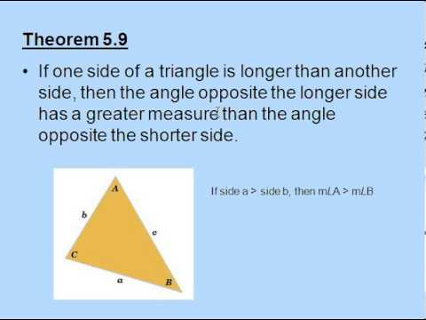Exterior angle inequality theorem youtube - How to do exterior angle theorem ...
