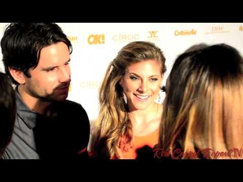 Justin Bird & Marisa Saks at OK! Magazine's PreOscar Party Oscars2014 OKMagazine @JustinBirdTMM