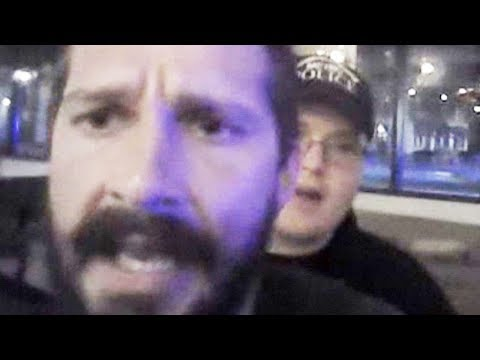 "Shia LaBeouf To Black Cop: ""You're A Pirate B*tch"" (VIDEO)"