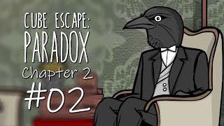 คุณอีกาพาสับสน | Cube Escape Paradox Chapter 2-2