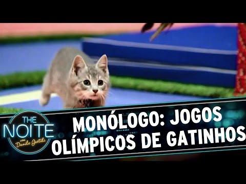 The Noite (09/08/16) - Monólogo: Jogos Olímpicos de GATINHOS!