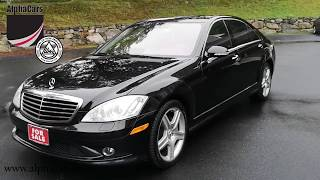 2008 Mercedes Benz S550 AMG Sport 4Matic, Overview, AlphaCars & Ural of New England