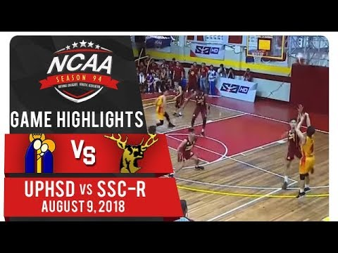 NCAA 94 MB: UPHSD vs. SSC-R | Game Highlights | August 9, 2018