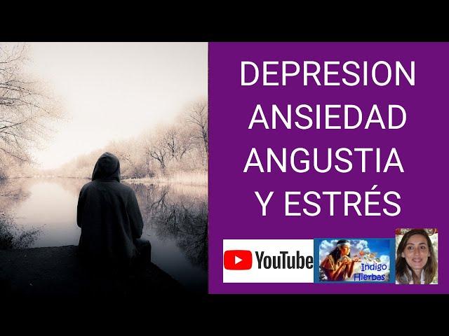 Angustia, Depresion, Ansiedad Y Estres aprende a manejarlos