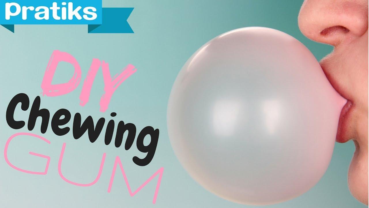 Comment faire du chewing gum youtube for Images comment pics