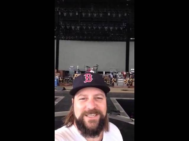 Great American Road Trip - Coy Talks Stage Setup | Zac Brown Band